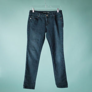 Michael Kors 4 Blue Denim Skinny Slim Jeans